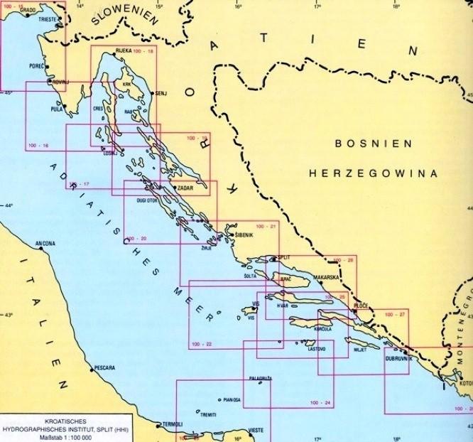 seekarten kroatien